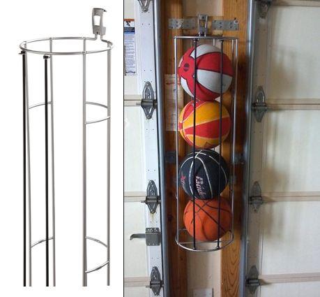 Rubbermaid FastTrack Garage Organization System, Vertical Garage Ball Rack,  42 Inch