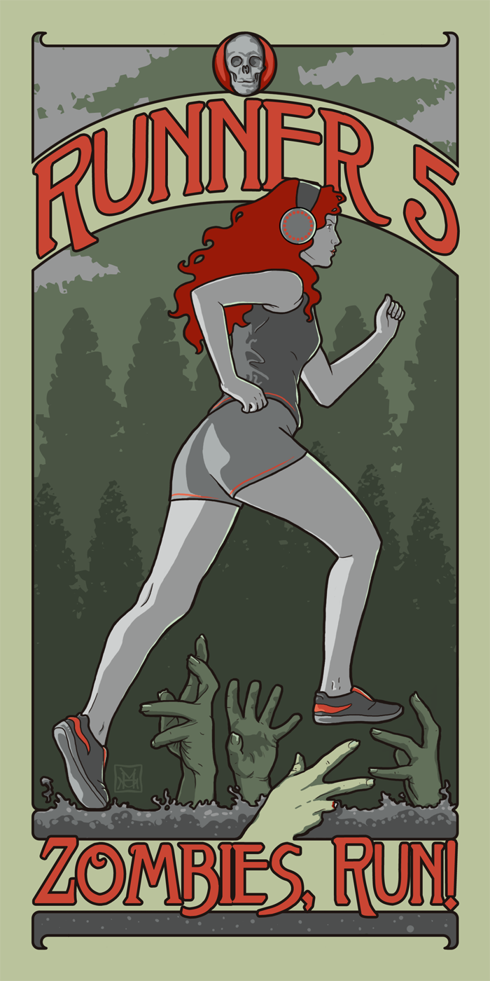 Runner 5 by phantomssiren. Check out www.zombiesrungame