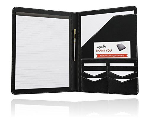 Logroo Padfolio - Business Portfolio - Resume Folder - Interview - resume holder