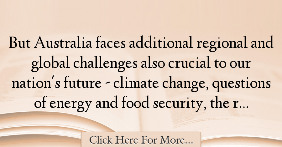 Kevin Rudd Quotes About Future 27528 With Images Future Quotes Quotes Rudd