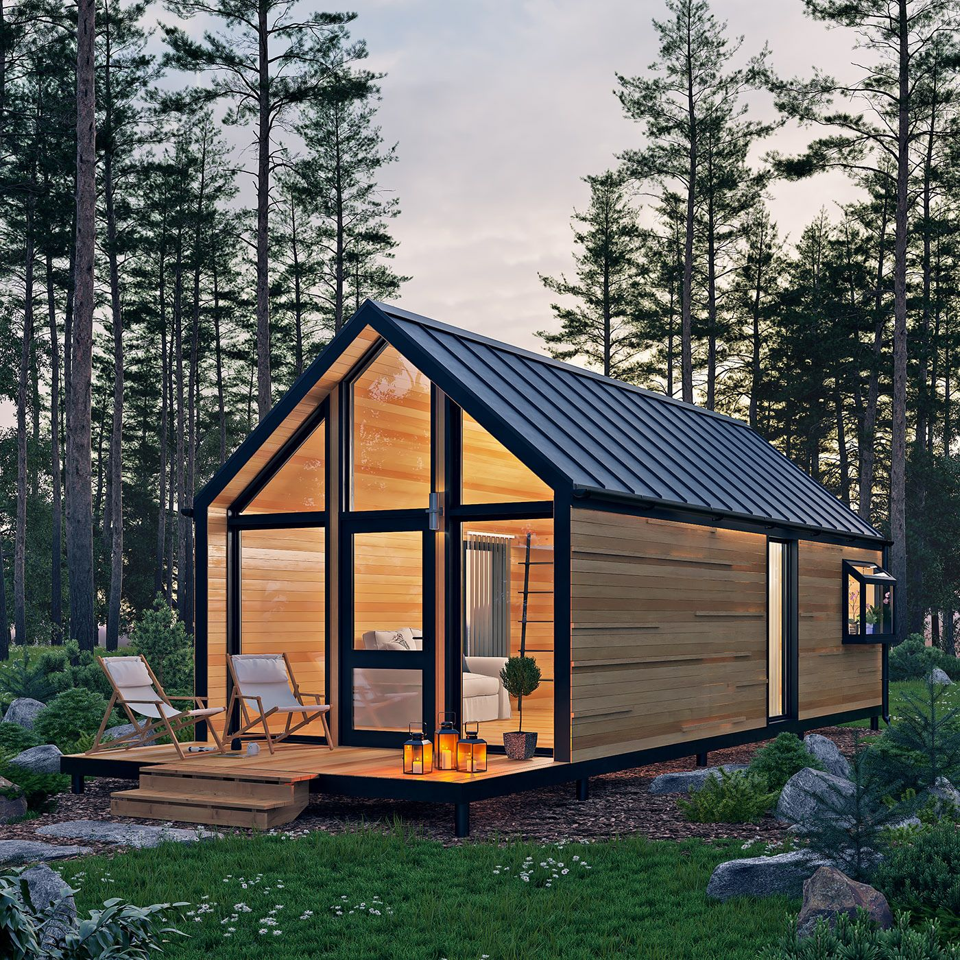 Where We Rush Forest House Architecture House Wooden House Design