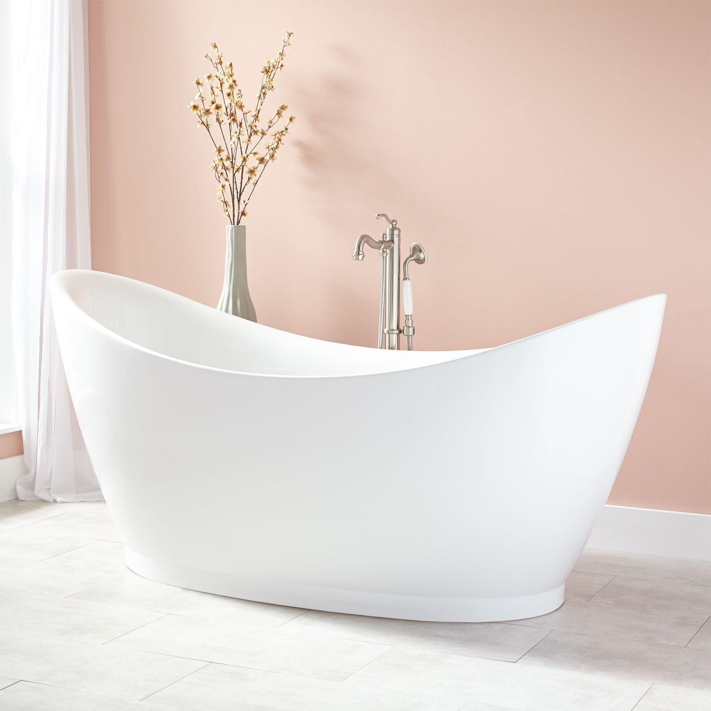 Torben Acrylic Freestanding Tub | Salle de Bain | Pinterest ...