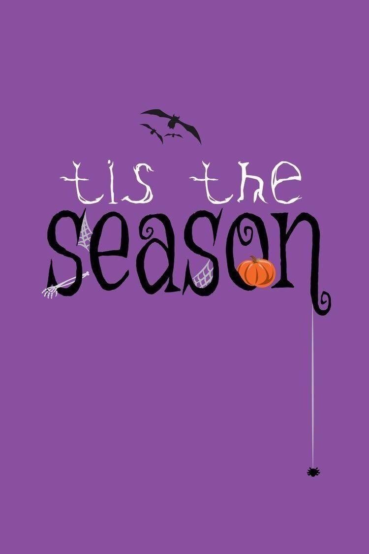 Falling Leaves Halloween Quotes Halloween Signs Purple Halloween