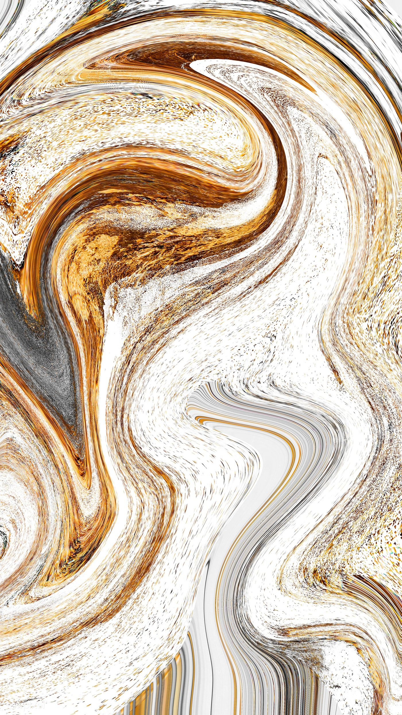 Download premium illustration of Marble texture with gold and gray swirls
