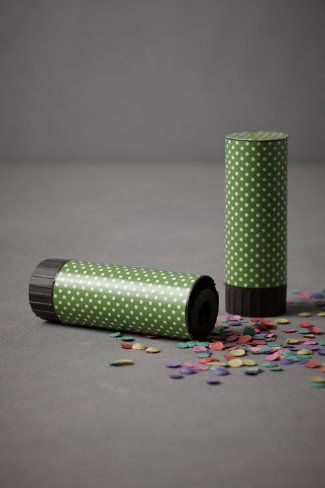 make homemade confetti with a hole punch and construction paper for patches birthday.