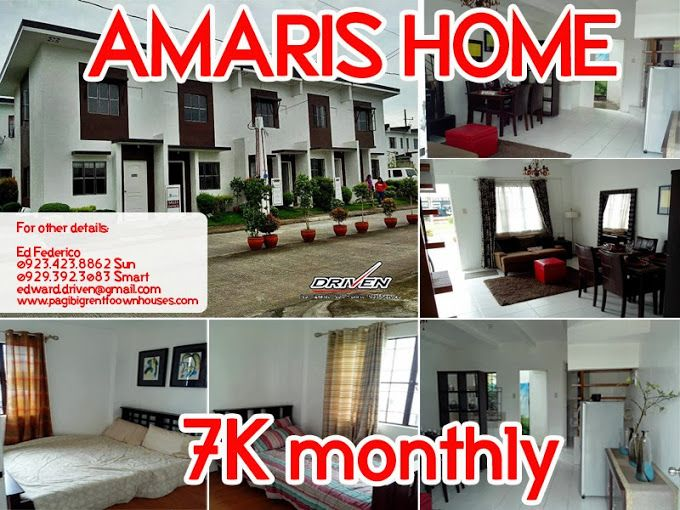 Rent To Own House And Lot In Bacoor Cavite Amaris Homes Elyana End Unit 72 Sqm P8 448 Monthly 30 Years To Pay Near Las Pinas And Alaban Bacoor Las Pinas Cavite