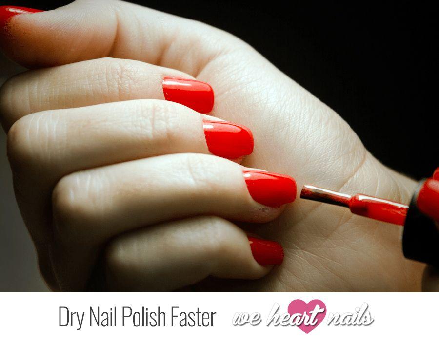 Super Speedy Life Changing Nail Hacks Dry Nail Polish Faster Dry Nail Polish Nail Polish Nail Tips