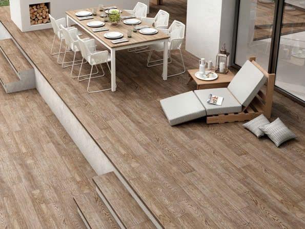 Timber look floor tiles in Sydney. Kalafrana Ceramics imports ...
