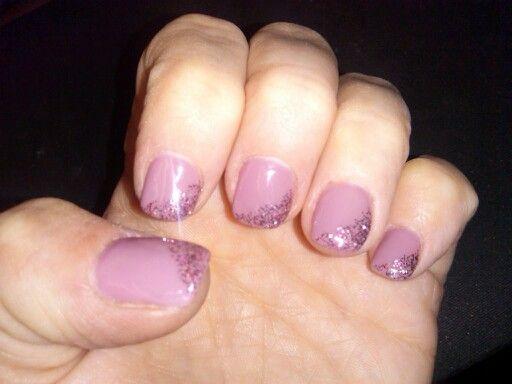 Greyish purple w/ a little sparkle