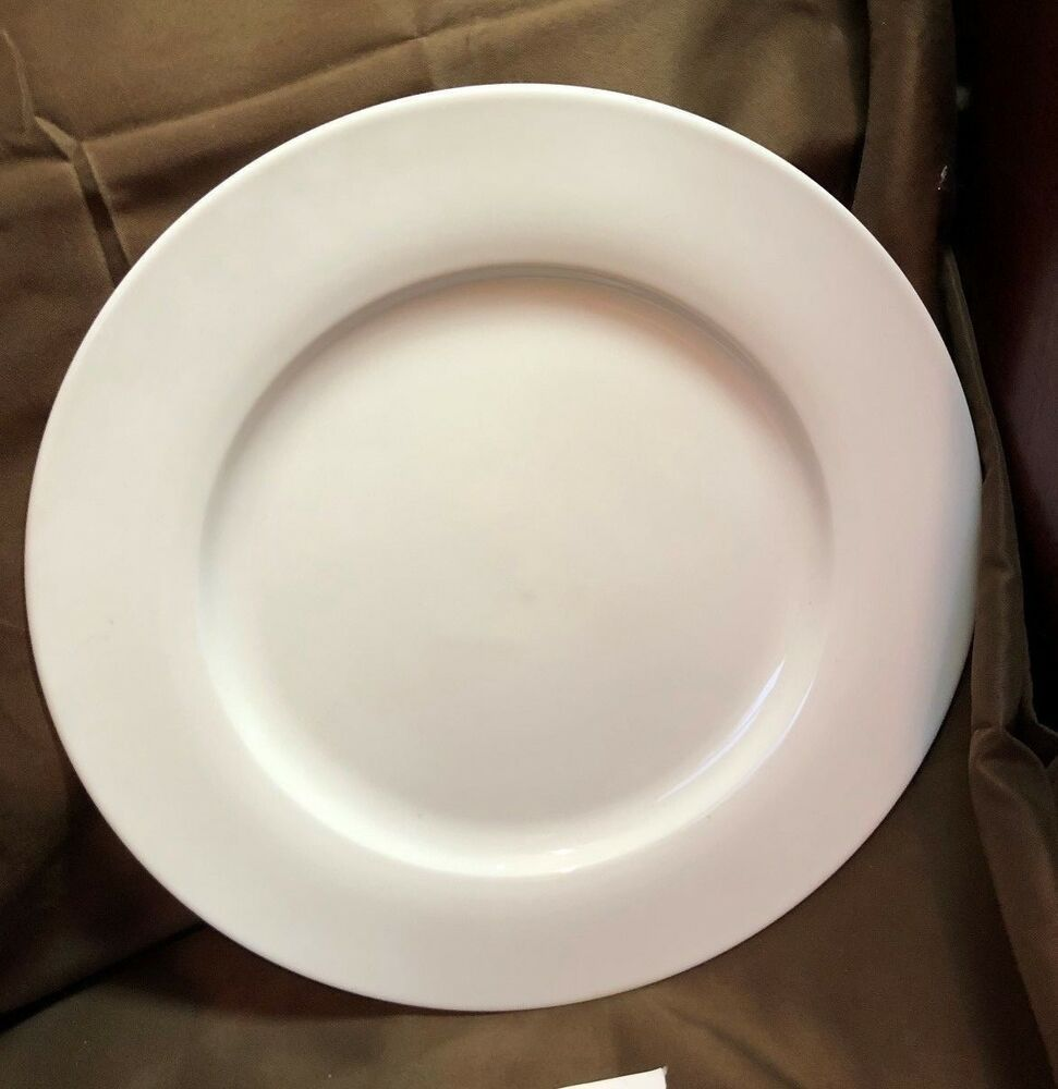 Bed Bath Beyond Everyday White 11 Round Rimmed Dinner Plate 8616234 Elegant Table Settings Everyday In 2020 Dinner Plates Bed Bath And Beyond White Dinner Plates
