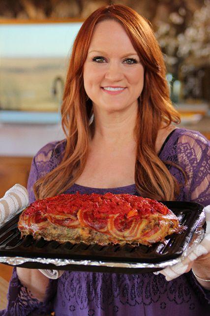 Pioneer woman on food network delicious dinners casseroles httpfoodnetworkrecipesree drummonditalian meatloafml forumfinder Images