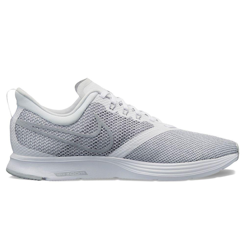 Nike Zoom Strike Men's Running Shoes, Size: 11.5, White