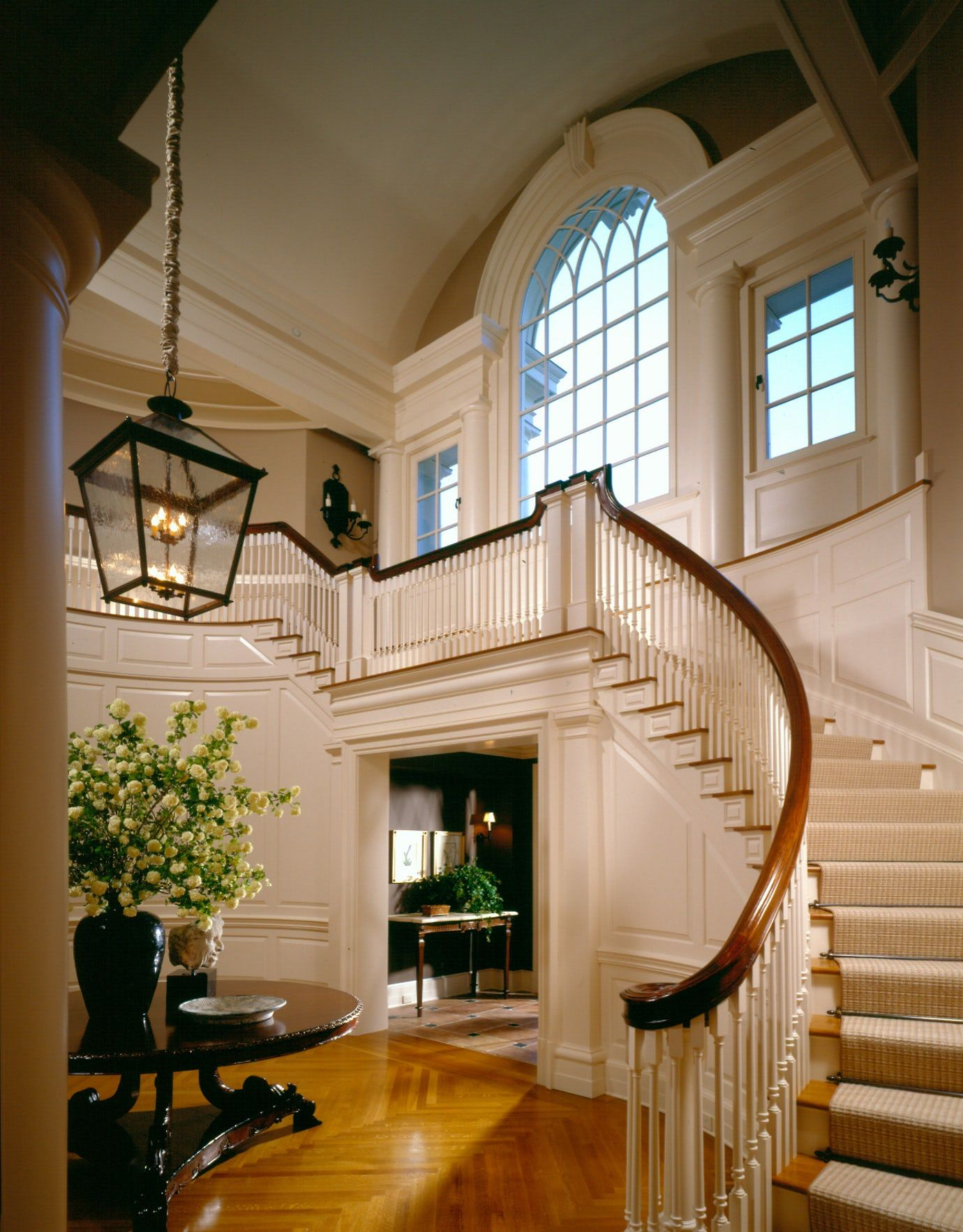 Best Hallway Staircase Architectural Detail Colonial Georgian 400 x 300