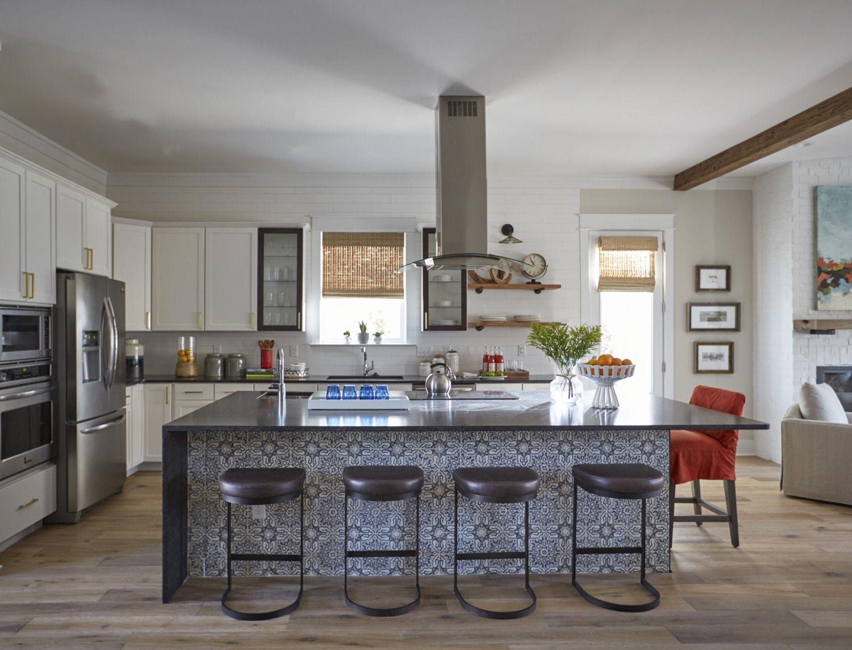Family Compliment Kitchen Design Open Concept Kitchen Interior Design Kitchen
