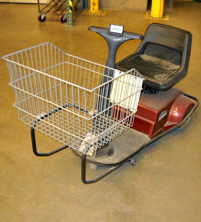 Shop In Style With This Motorized Handicap Electric Shopping Cart