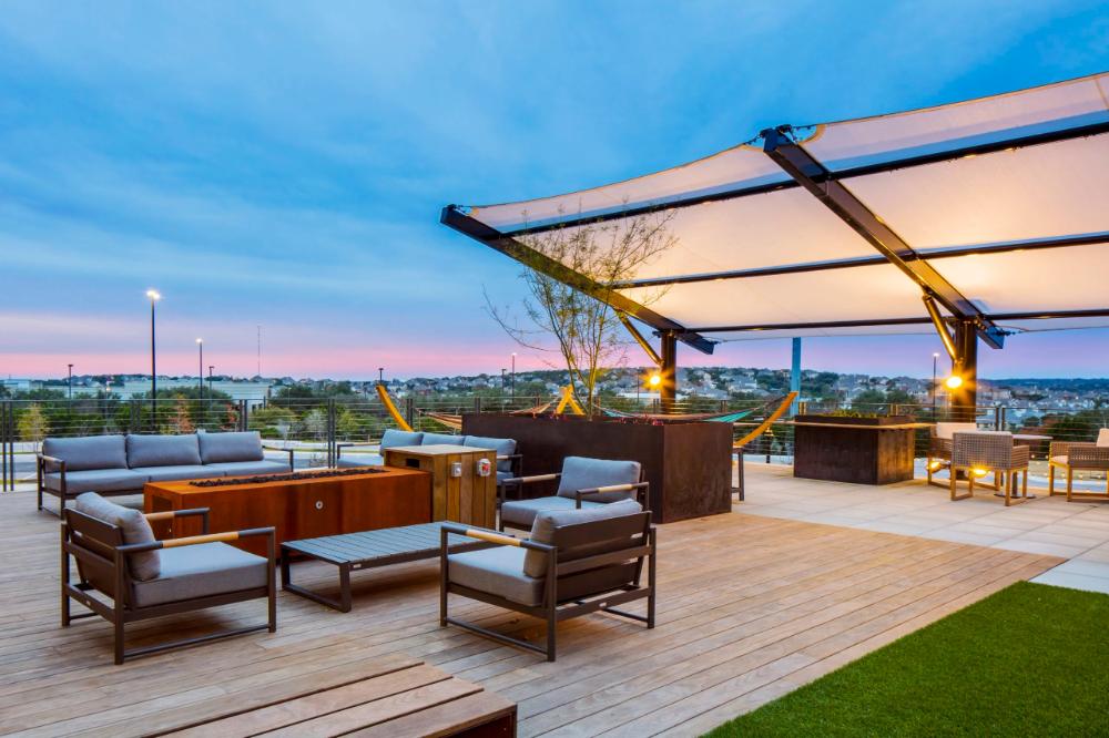 Yeti Corporate Office Kebony Usa In 2020 Outdoor Outdoor Umbrella Patio