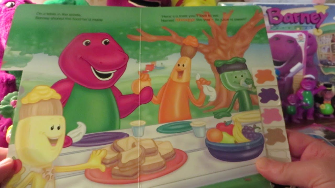 the complete book barney u0027s what can it be 1994 barney