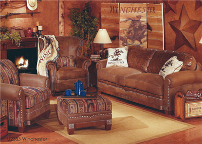 Western Sofa, Winchester, Remington Chair, Marshfield Furniture; The Refuge  Lifestyle