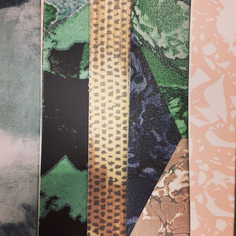 Exhibition Stand Wall Covering : Beautiful wallpaper samples on display at @tisewest by newmor wall