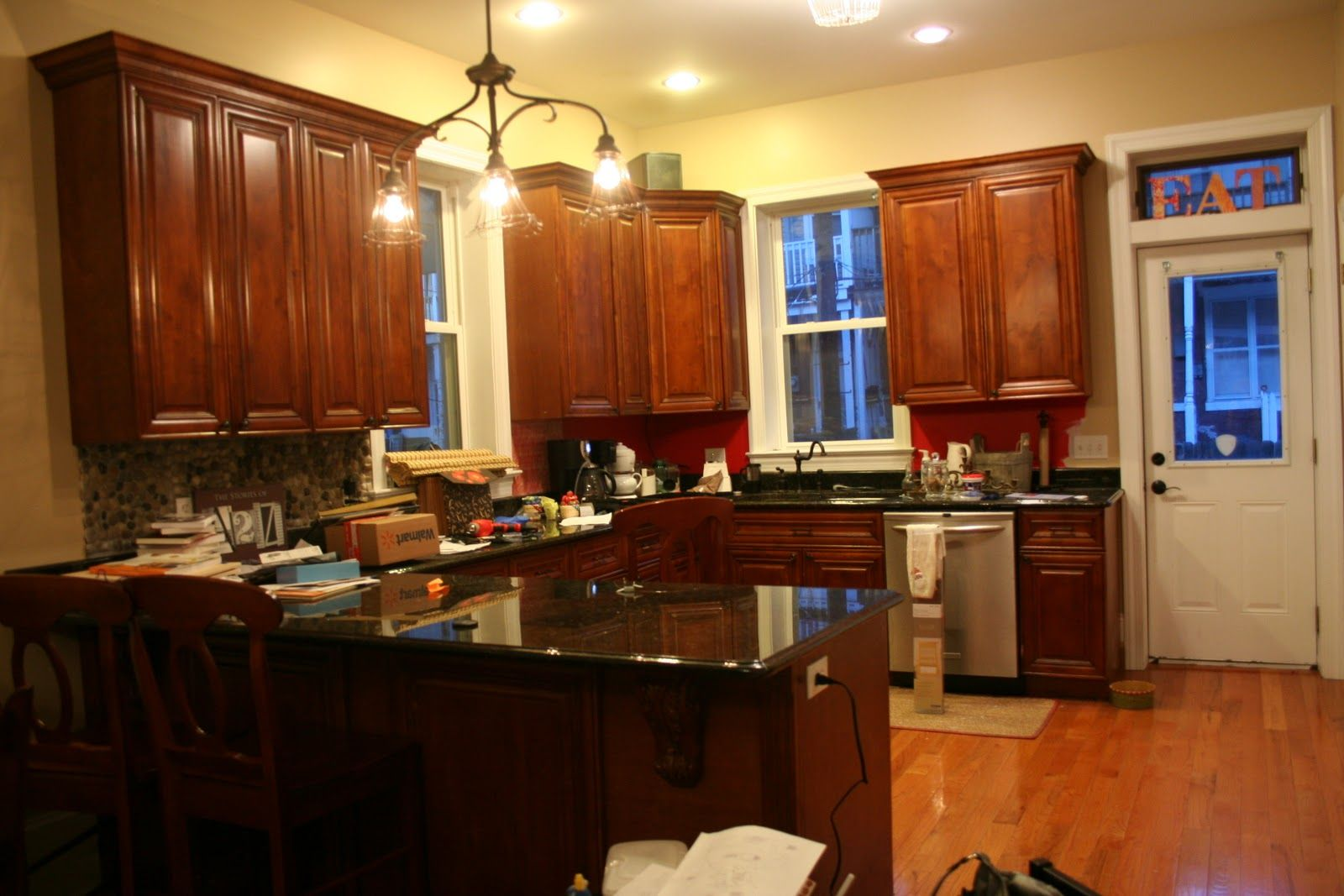 Kitchen Color Ideas With Dark Cabinets
