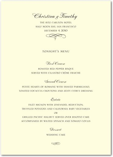 9f6a67200712197639c5a1670ac3a97d - Traditional Wedding Menu