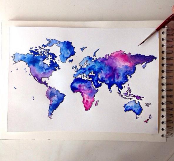Watercolor Pencil Art Ideas