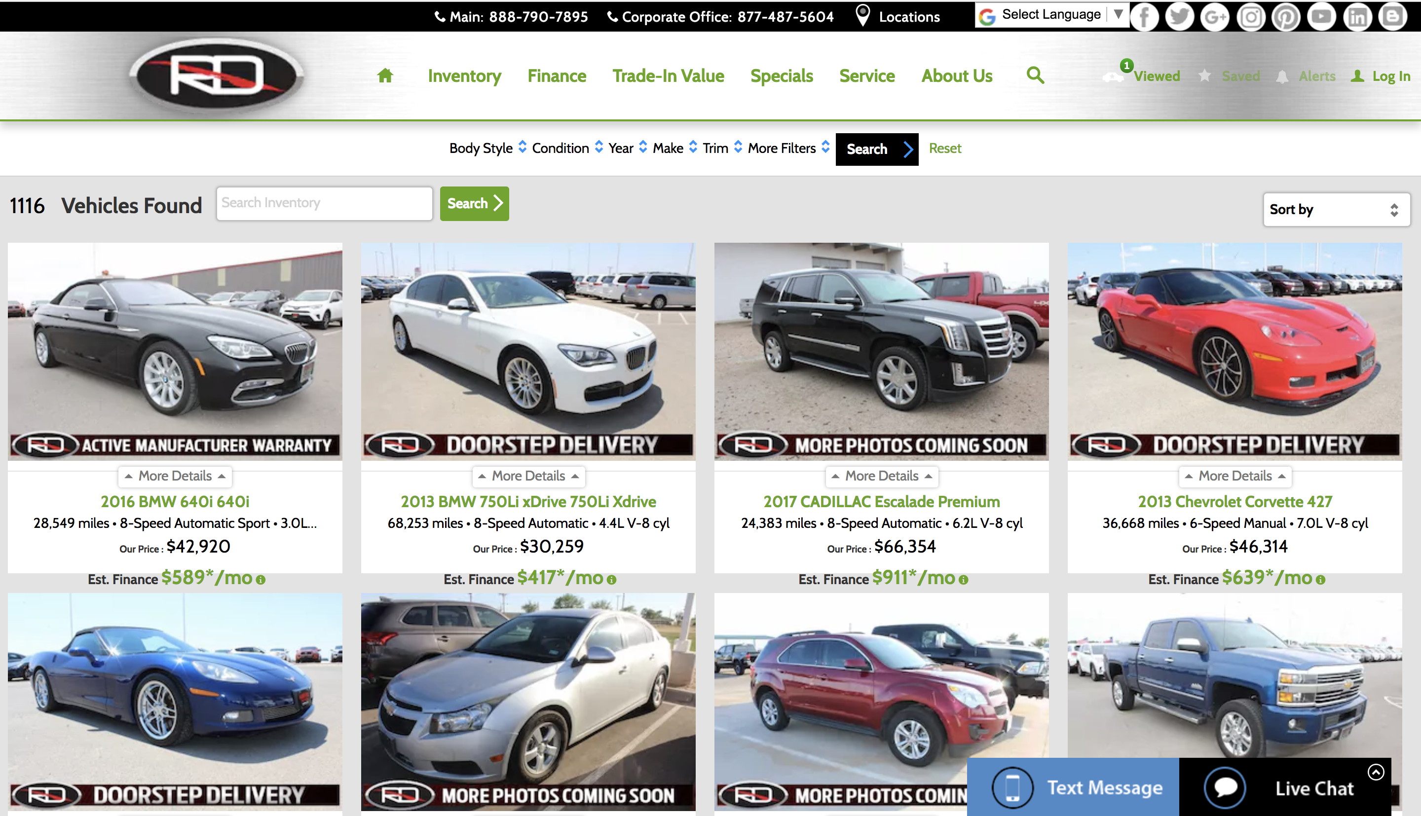 Certified Used Cars Lubbock TX View our extensive list of certified