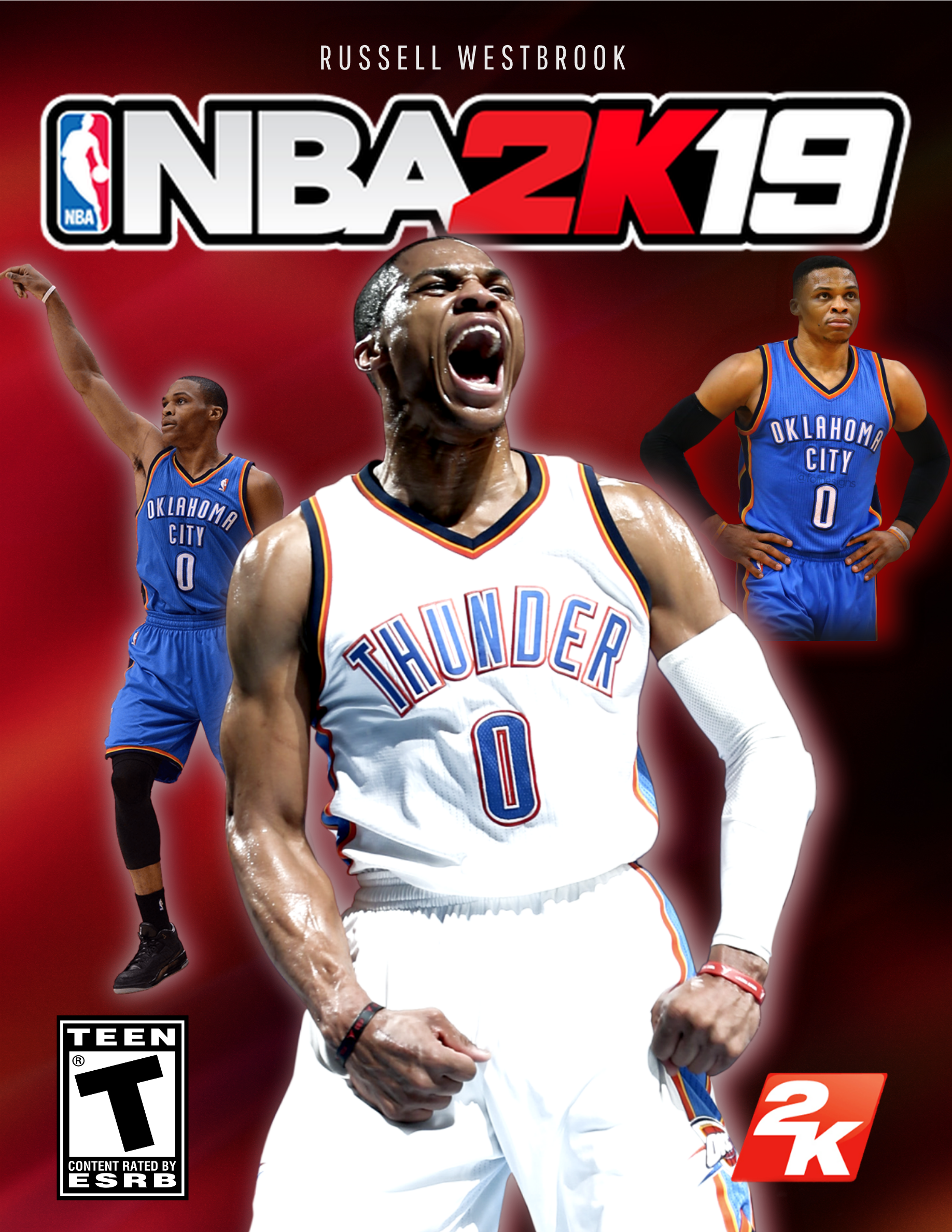 875c8fbc0 NBA 2K19 Cover Star Russell Westbrook