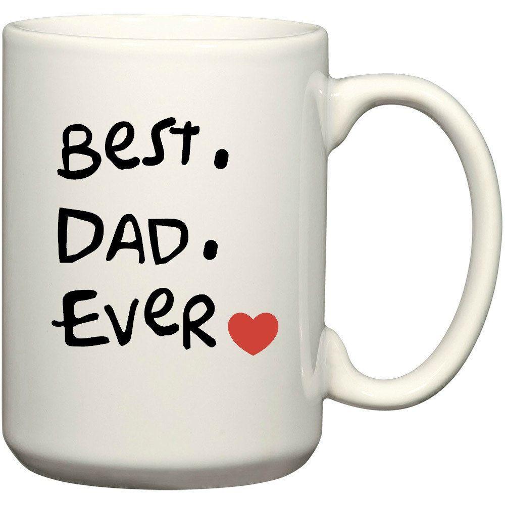 Best dad ever mug customizable mug personalized mug