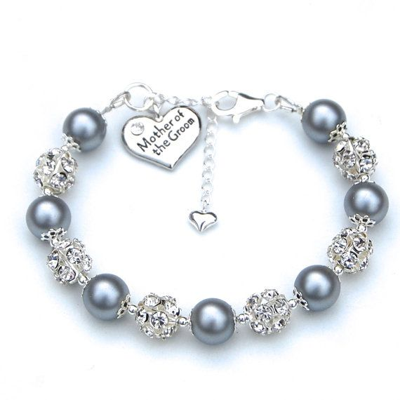 Mother Of The Groom Charm Bracelet Bride Pick Your