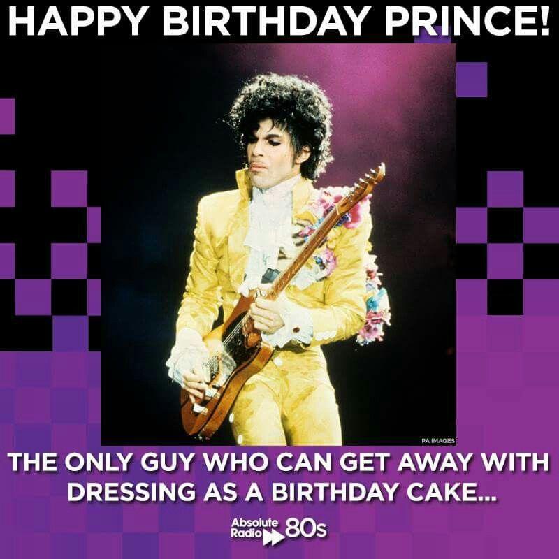 Happy Birthday Prince!   (6/7/2015)