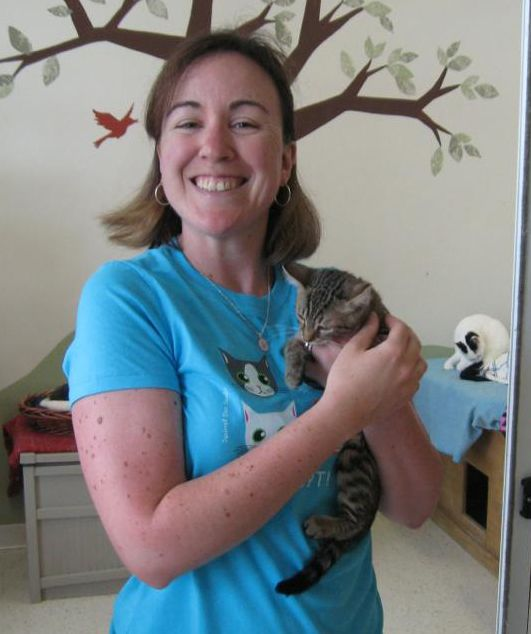 Emily Is A Volunteer At Colony Cats Cat Shelter In Columbus Ohio Cat Shelter Squirrel Volunteer