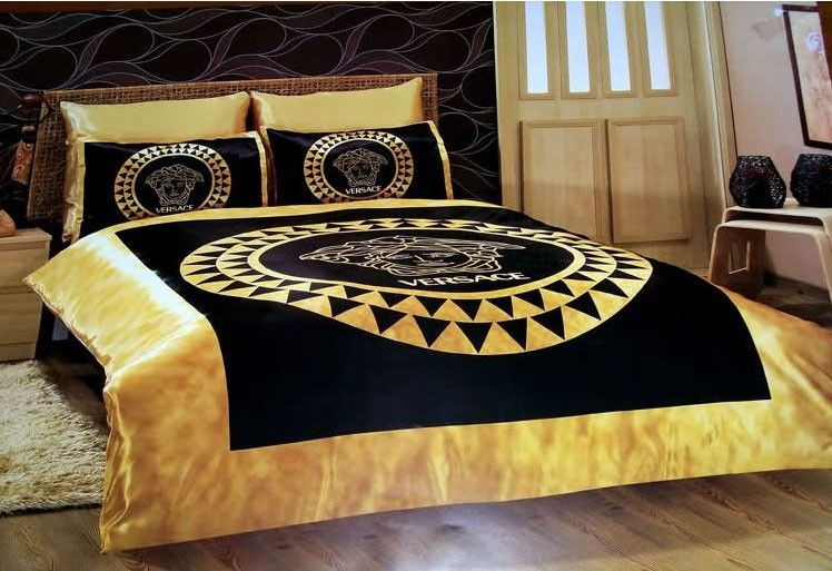 Versace Bedding Günstig Billig Gut Bettwäsche King Size Satin Seide