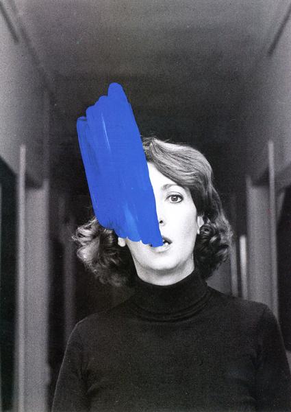 Helena Almeida Colagem De Fotografia Cursos De Pintura Arte Abstracta