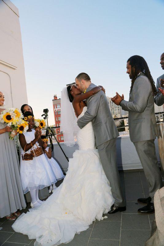 Real Weddings {San Francisco}: Monique & Matthew! - Blackbride.com