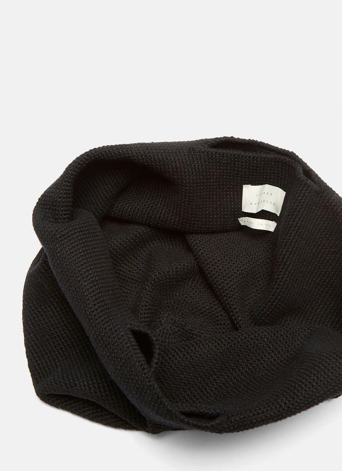 Lauren Manoogian Crochet Bowl Bag in Black | LN-CC #crochetbowl LAUREN MANOOGIAN CROCHET BOWL BAG #crochetbowl