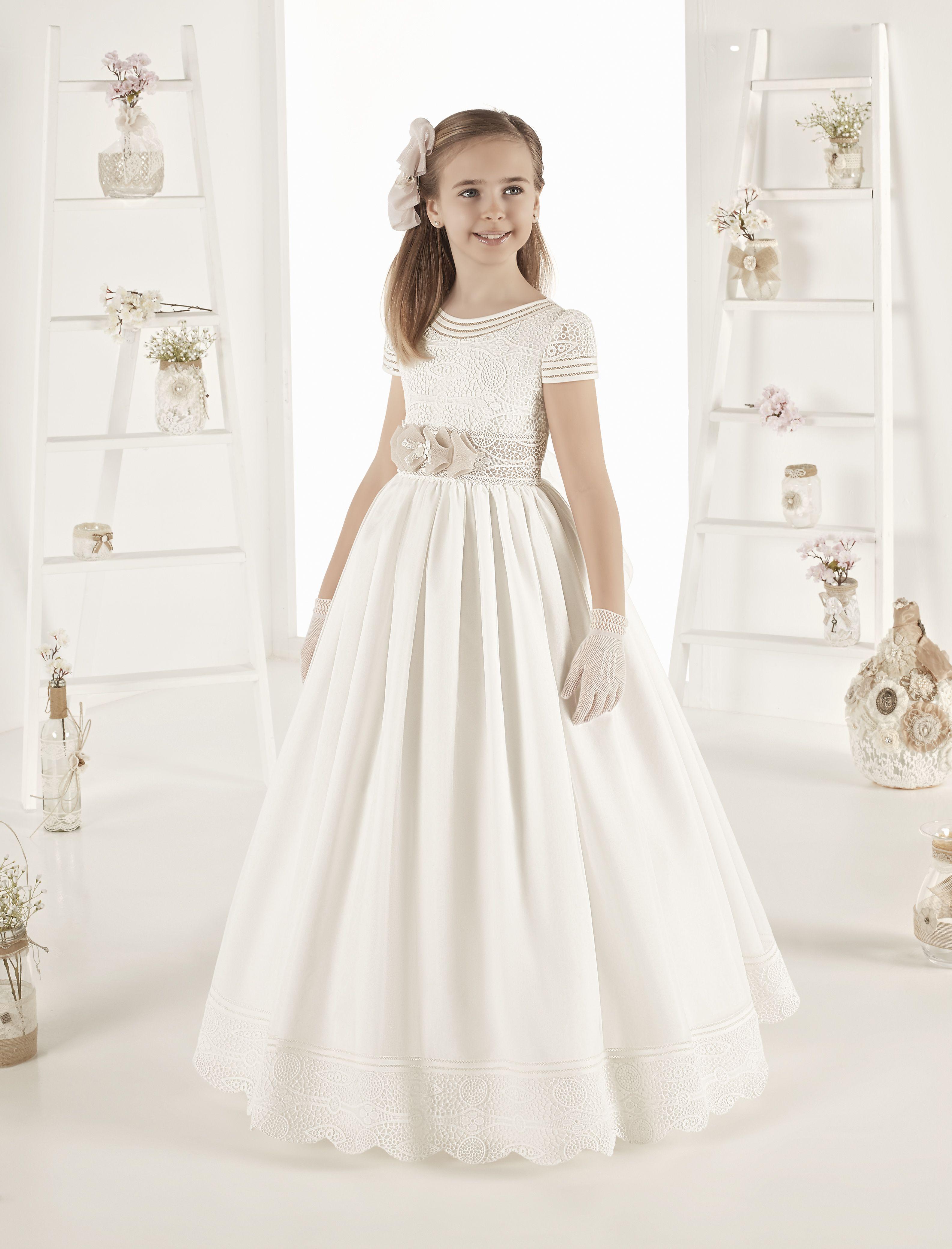 Spanish Communion Dresses Rosa Clara 2019 Style 30134 Communion Dresses Dresses Wedding Dresses