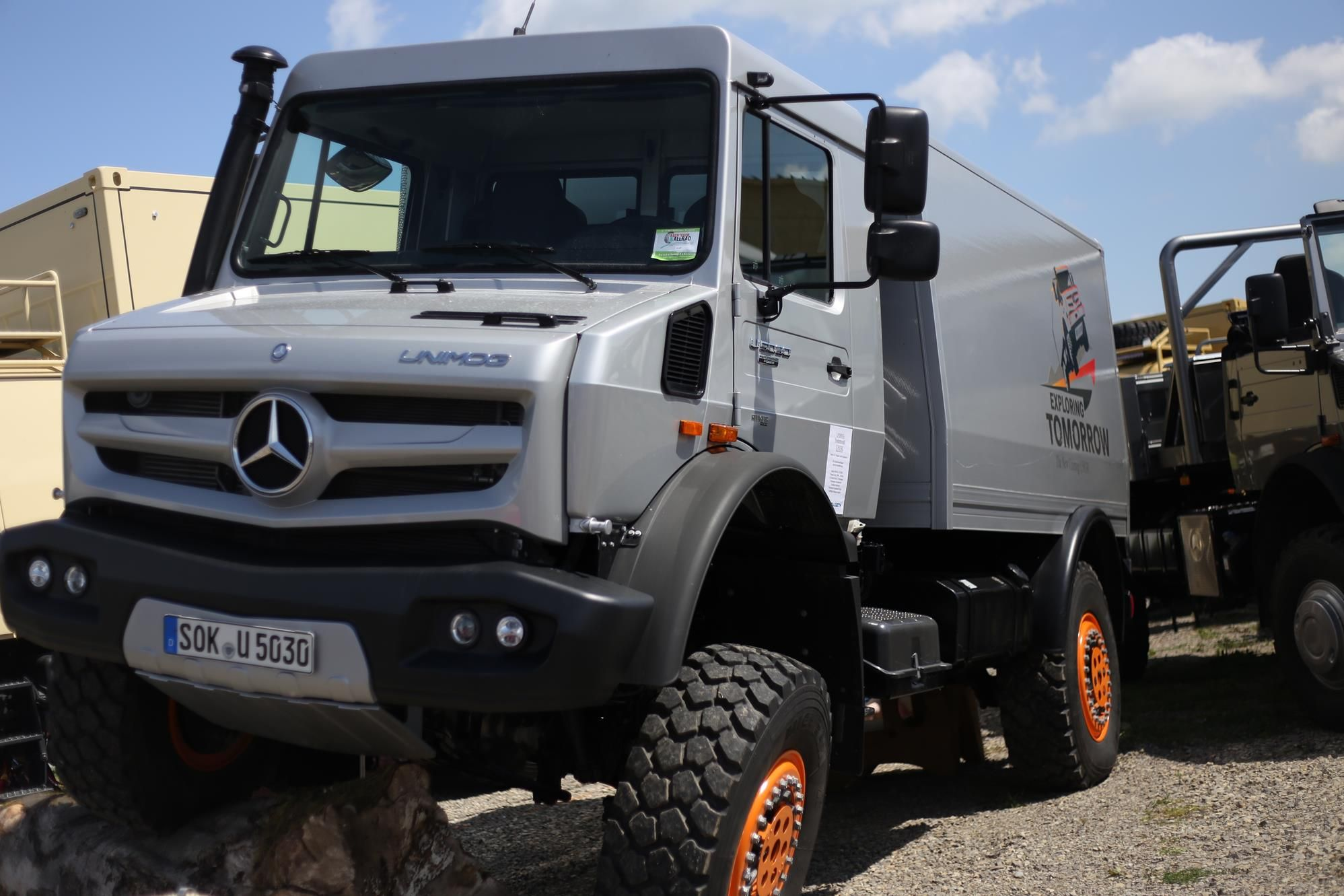 Bad Kissingen Offroad This Year The Abenteuer Allrad Show In Bad Kissingen Mercedes