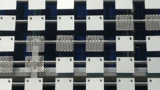 Modern Architecture News brisbane airport car park kinetic facade - modern architecture
