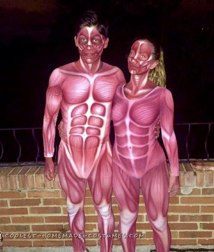 Cool Human Anatomy Costumes Coolest Diy Costumes Pinterest