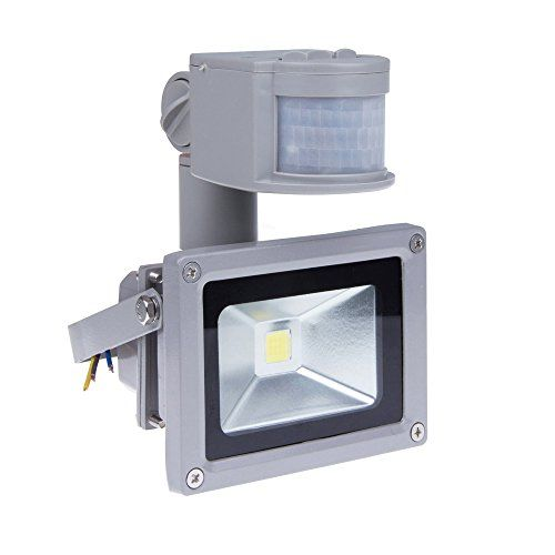 New Design Zhma 12v 10w Motion Sensor Flood Lightoutdoor Led Flood Lightssmart Pir Outdoor Security Floodlight 700 Led Flood Lights Led Flood Basement Lighting