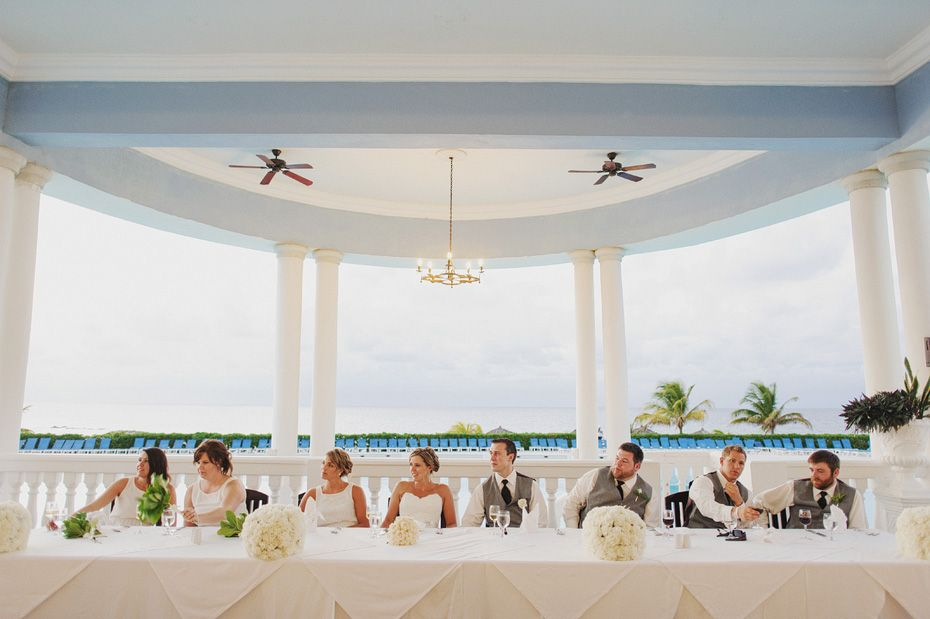 Waves Of Love In White At The Beach Pergola Gp Jamaica Grand Palladium Wedding Packages And Options For Mayan Riviera