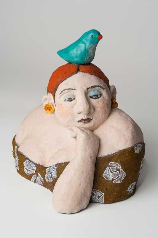 Ceramic sculpture brigitte zoehrer pinterest for Knetbeton selber mischen