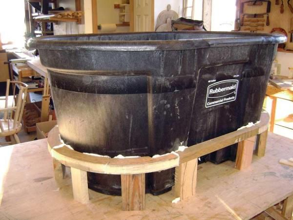 DIY Hot Tub - DIY | Fire pit essentials, Plastic stock