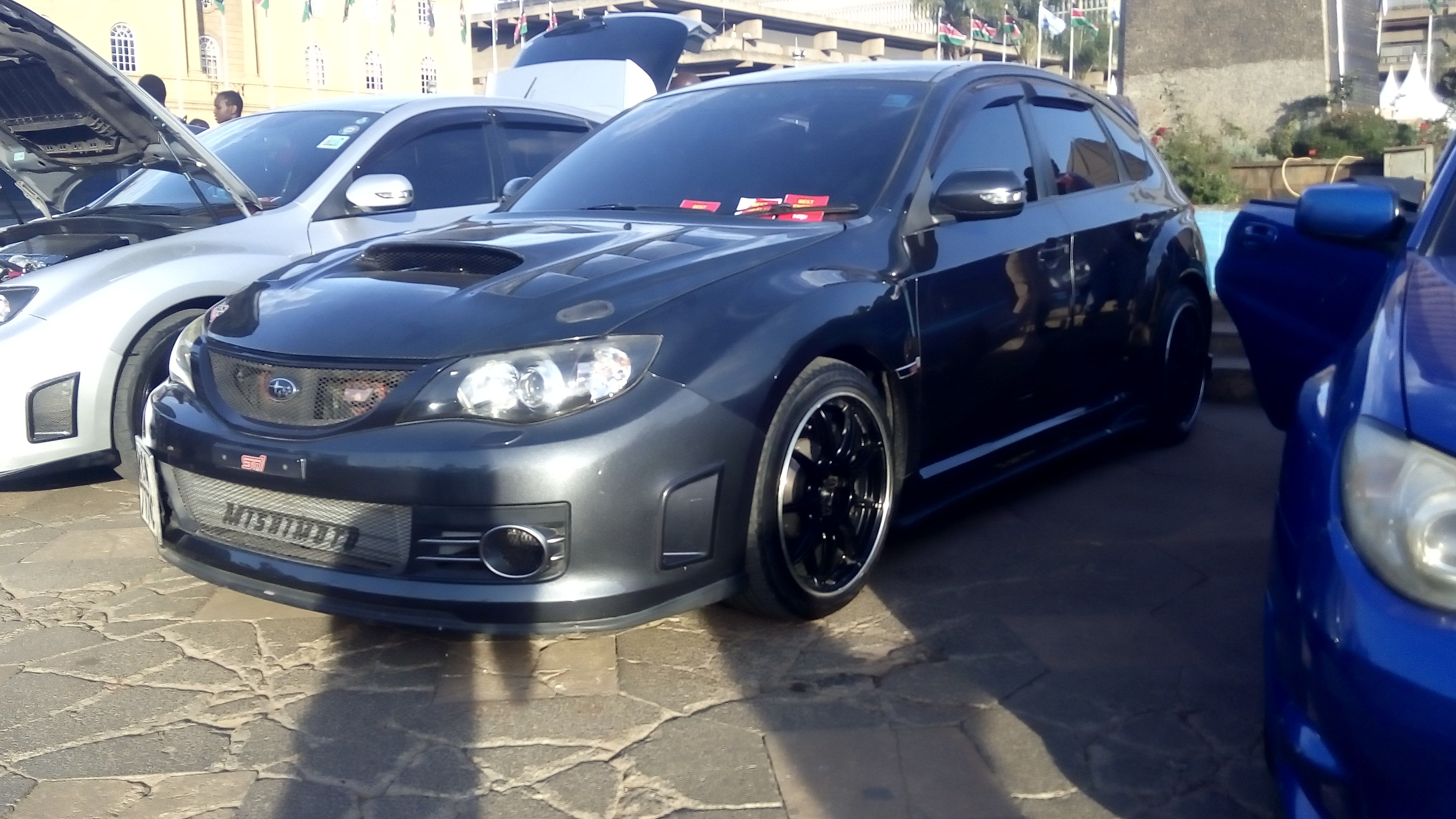 Subaru Confidence In Motion Motor Fest Kicc Nairobi Kenya