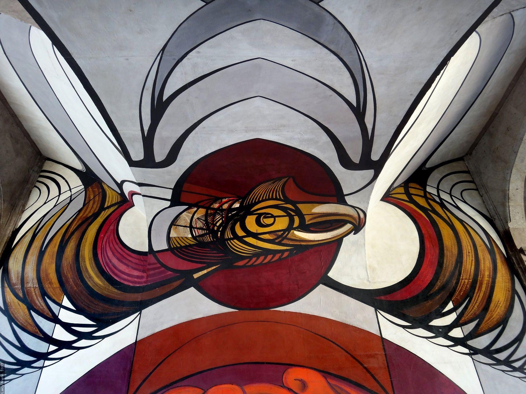 Mural Patricios Y Patricidas 1945 1960 De David Alfaro