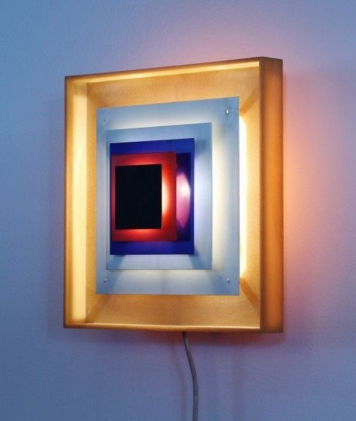 Cool Wall Light for Lyfa, 1970s LED L I G H T Solutions