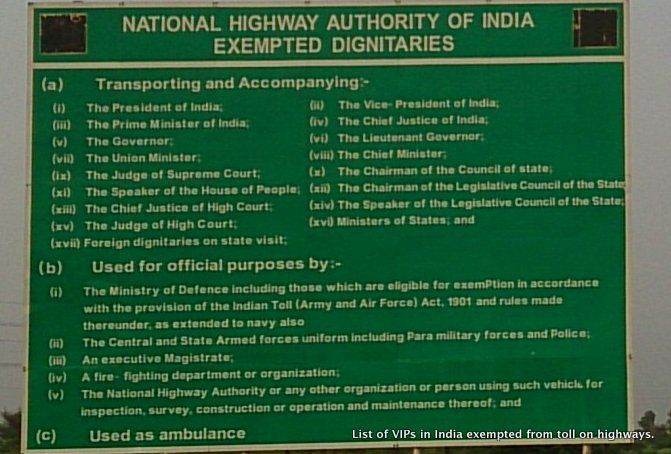 Highways ministry might trim the VIP list enjoying free ride at toll plazas Read more at http://www.rushlane.com/highways-ministry-might-1295697.html#fi6gIuy7LQrT2FFK.99