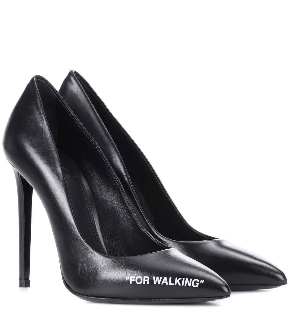 off white for walking leather pumps shoes pinterest pumps