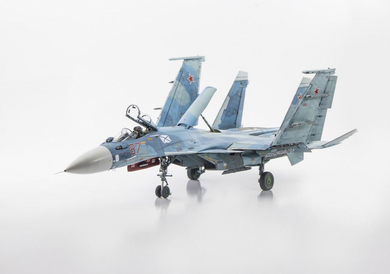 Loading su 33 flanker d carrier based fighter jet su 27 - Su 33 Flanker D By Shiblee Hasan Kinetic 1 48